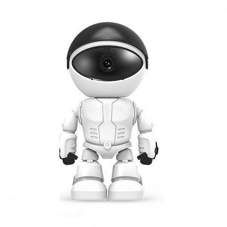 Robot intelligent HD 1080P Wifi P2P détecteur de mouvement et audio bidirectionnel