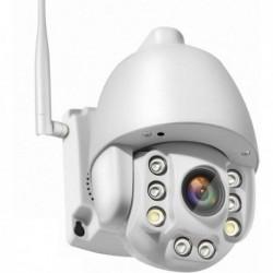 Caméra de surveillance pour extérieur rotative SIM 3G et 4G Zoom X5