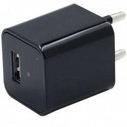 Chargeur USB à caméra espion Full HD 1080P enregistrement en boucle