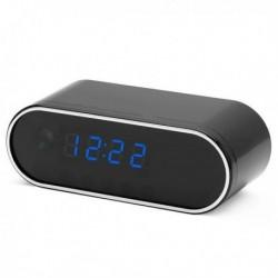 Réveil à caméra espion Full HD 4K Wifi P2P infrarouge détection de mouvement