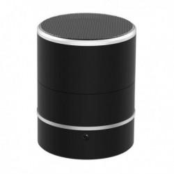 Enceinte Bluetooth à caméra espion 1080P rotative 180° Wifi détection de mouvement