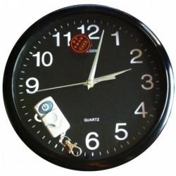 Horloge surveillance caméra cachée 4Go de mémoire et télécommande