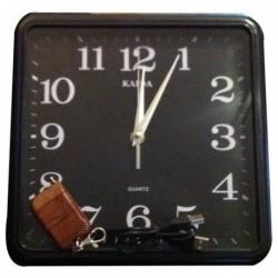 Horloge Caché Mini Caméra sans Fil 4Go de mémoire et télécommande