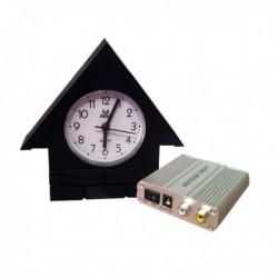 Horloge Camera cachée espion de surveillance avec récepteur sans fil