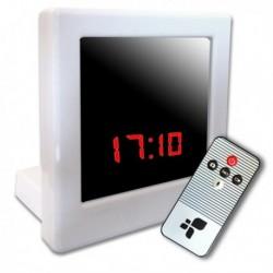Réveil caméra Enregistreur Vidéo DVR télécommandé et détecteur de mouvement
