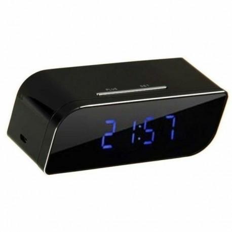 Réveil Spy Cam DV DVR caméscope haute définition 1080P Wifi vision nocturne et détection de mouvement