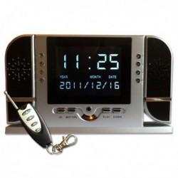 Réveil caméra mini Enregistrement vidéo infrarouge télécommandé