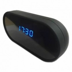 Réveil Caméra cachée Spy détection de mouvement HD 1080P Wifi vision de nuit