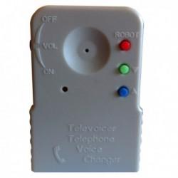 Changeur de voix pour téléphone 8 options pré-configurées