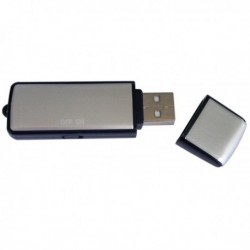 Clé USB dictaphone 2Go enregistreur vocal
