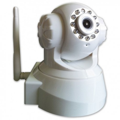 Caméra IP motorisée, infrarouge, WiFi, contrôle par internet