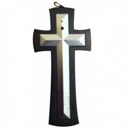 Collier avec pendentif croix caméra espion 4Go