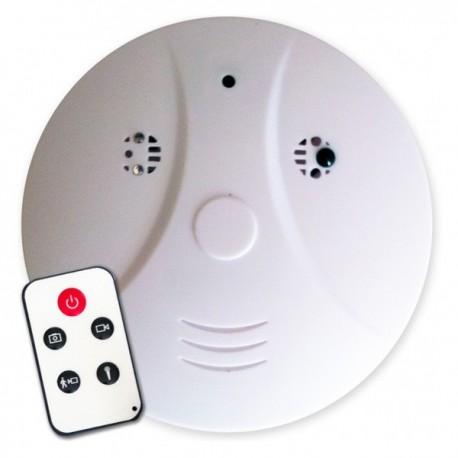 Faux détecteur de fumée caméra espion 4Go télécommandé